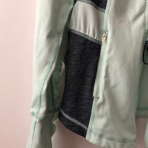 Zella Other - Zella Workout Jacket Size Small Mint & Grey